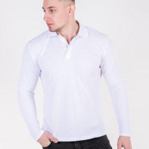 5719-02 Рубашка поло белая