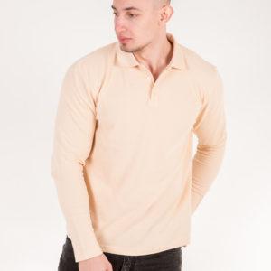 5719-16 Рубашка поло беж