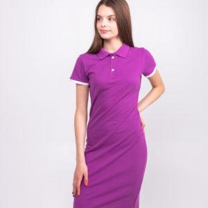 фиолетовое платье ТвоеПоло