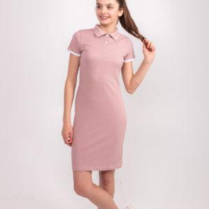 пудровое платье ТвоеПоло