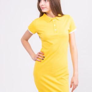 желтое платье ТвоеПоло