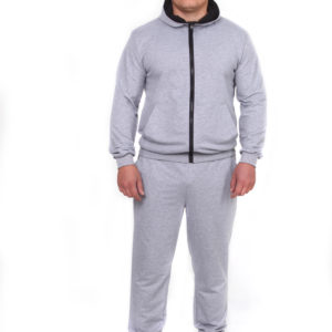 серый спортивный костюм М8