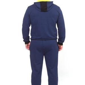 Спортивный костюм синий комбинированный
