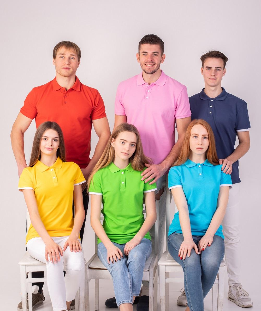 футболки поло в асортименте