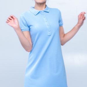 6700-22 платье голубое