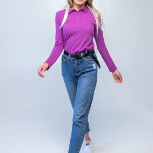 Рубашка Твоеполо фиолетовая