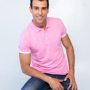 Футболка Твоеполо розовая