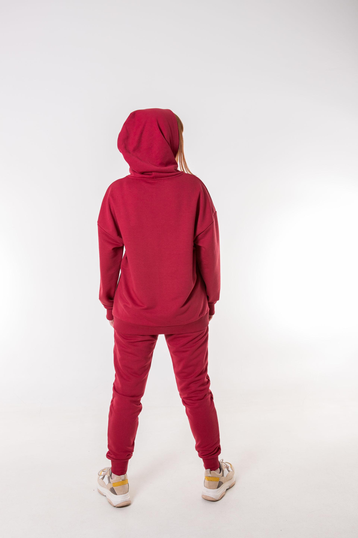 220-13 костюм бордовый