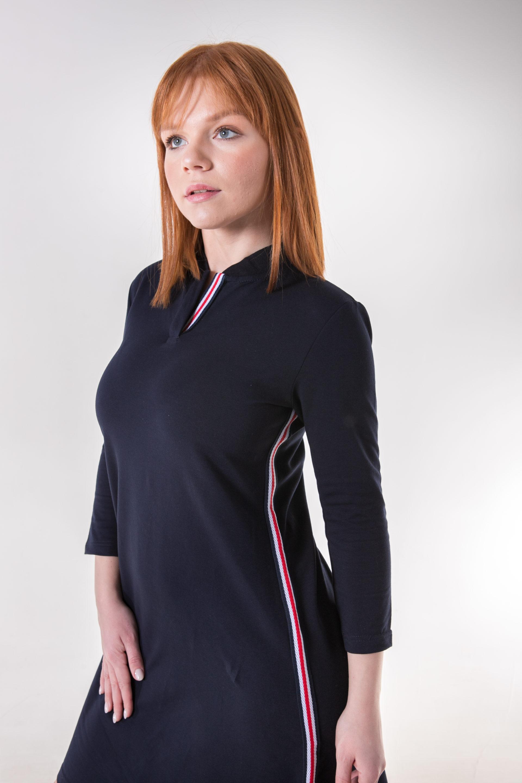 6555-88.12 платье трапеция