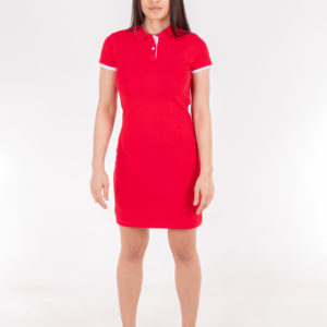 6717-28 платье алое