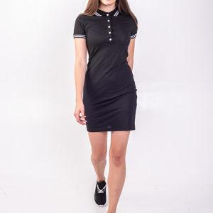 Черное платье поло Твоеполо