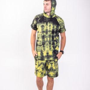 Костюм мужской желто-зеленый 6303-44