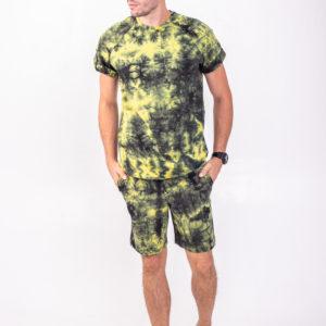 Костюм мужской желто-зеленый 6302-44